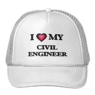 I love my Civil Engineer Trucker Hat
