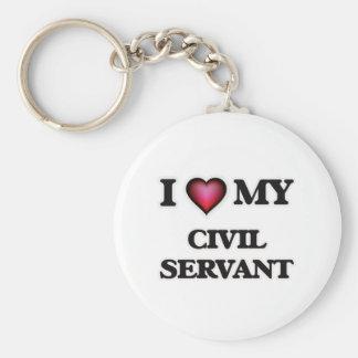 I love my Civil Servant Keychain