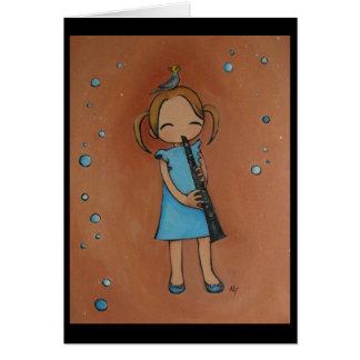 I Love My Clarinet Card