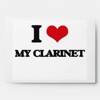 I love My Clarinet Envelopes