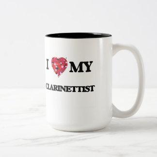 I love my Clarinettist Two-Tone Coffee Mug
