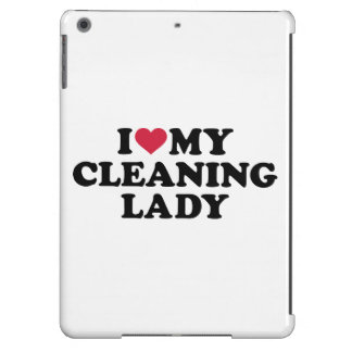 I love my Cleaning lady iPad Air Covers