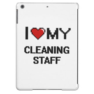 I love my Cleaning Staff iPad Air Covers