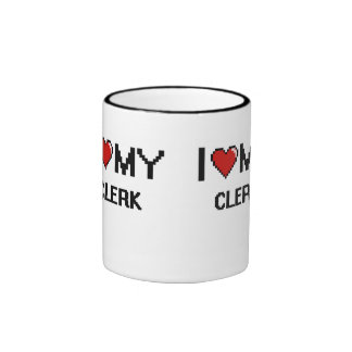 I love my Clerk Ringer Mug