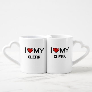 I love my Clerk Couple Mugs