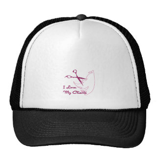 I Love My Clients Trucker Hat