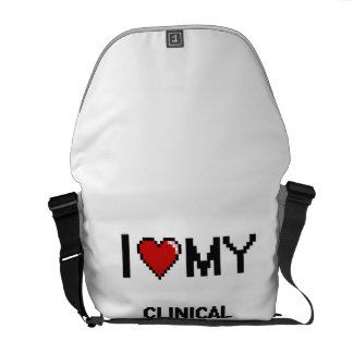 I love my Clinical Psychologist Messenger Bags
