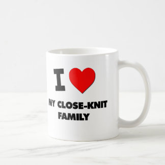 I love My Close-Knit Family Classic White Coffee Mug