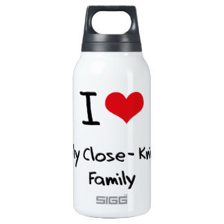 I love My Close-Knit Family 10 Oz Insulated SIGG Thermos Water Bottle