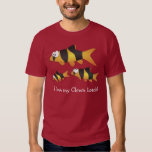 I love my clown loach - the coolest fish ever! tee shirts