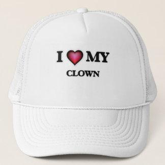I love my Clown Trucker Hat