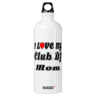 I Love My club DJ Mom SIGG Traveler 1.0L Water Bottle