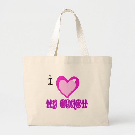 I Love MY COACH Jumbo Tote Bag