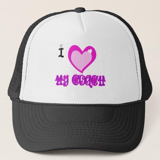I Love MY COACH Trucker Hat