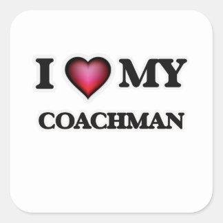 I love my Coachman Square Sticker