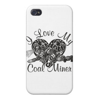i love my coal miner iPhone 4 cover