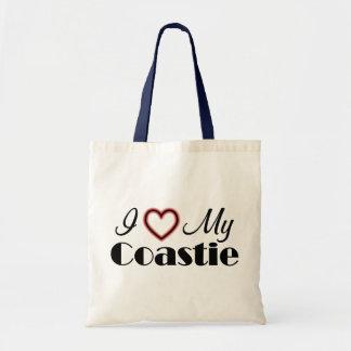I Love My Coastie Budget Tote Bag