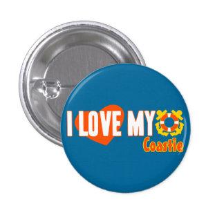 I Love My Coastie! 1 Inch Round Button