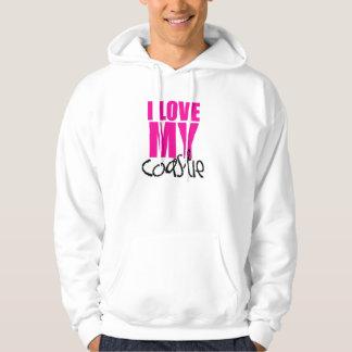 I Love My Coastie Hoodie