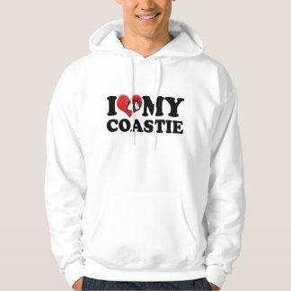 I Love My Coastie Hoodies