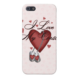 I Love My Coastie iPhone 5 Case