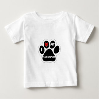 I love my Cockapoo Baby T-Shirt
