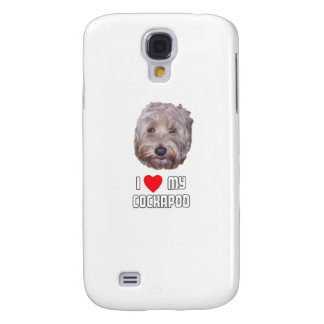 I Love my Cockapoo Samsung S4 Case