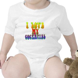 I Love My Cockatiel Shirt