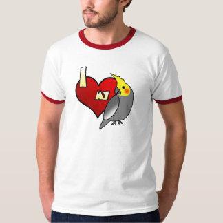 I Love my Cockatiel Tshirt