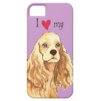 I Love my Cocker Spaniel iPhone SE/5/5s Case
