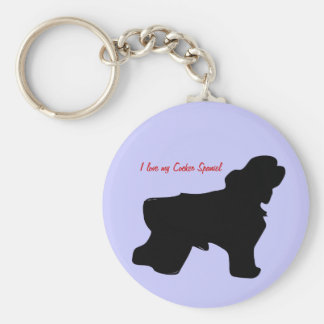 I love my Cocker Spaniel Key chain