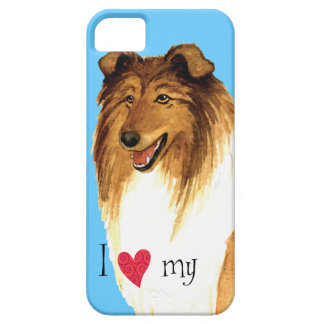 I Love my Collie iPhone SE/5/5s Case