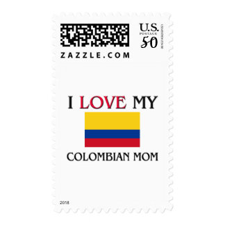 I Love My Colombian Mom Postage