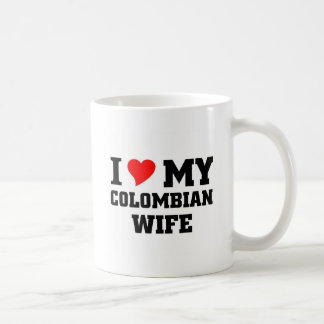 I love my Colombian wife Coffee Mug