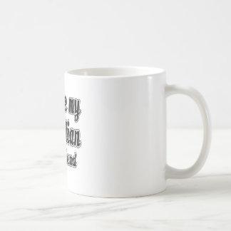 I love my Comedian Boyfriend Classic White Coffee Mug