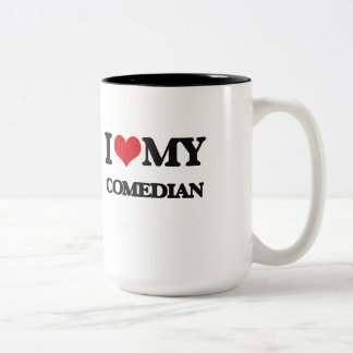 I love my Comedian Two-Tone Coffee Mug