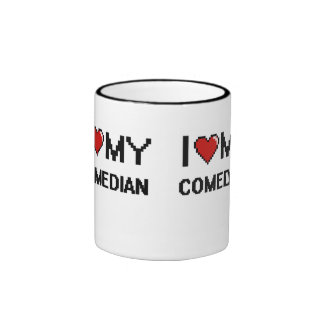 I love my Comedian Ringer Coffee Mug