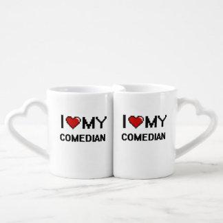 I love my Comedian Lovers Mug Sets