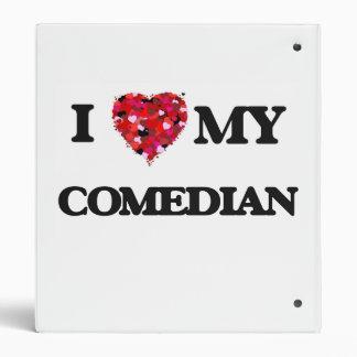 I love my Comedian Vinyl Binders