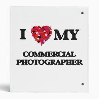 I love my Commercial Photographer Vinyl Binder
