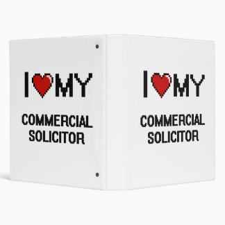 I love my Commercial Solicitor 3 Ring Binder