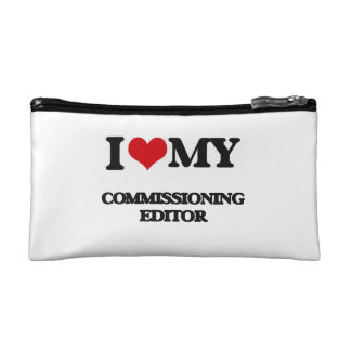 I love my Commissioning Editor Cosmetic Bag