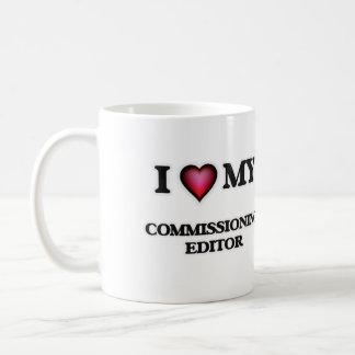 I love my Commissioning Editor Coffee Mug