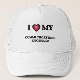 I love my Communications Engineer Trucker Hat
