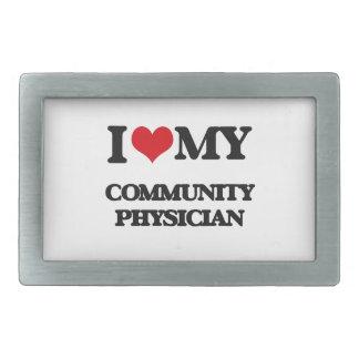 I love my Community Physician Belt Buckles