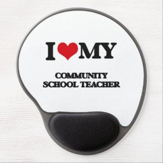 I love my Community School Teacher Gel Mouse Mats