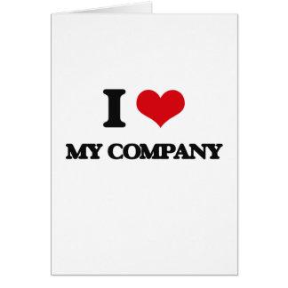 I Love My Company Card