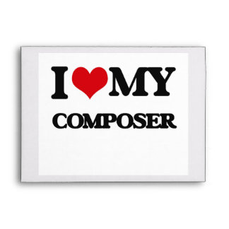 I love my Composer Envelopes