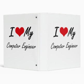 I love my Computer Engineer 3 Ring Binder