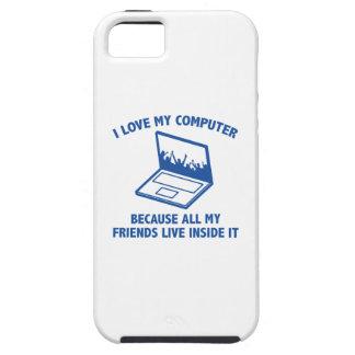 I Love My Computer iPhone SE/5/5s Case